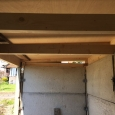 Green roof supports - interior