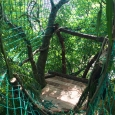 Tree house cargo nets
