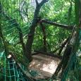 Tree house cargo nets