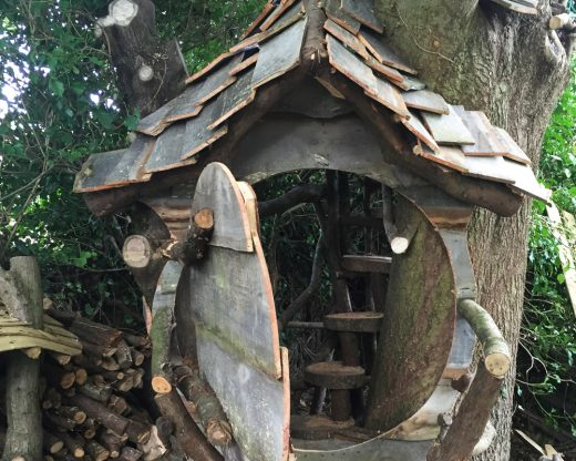 Building treehouses in Brighton